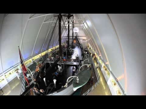 Time-lapse The Fram Museum