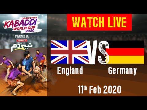 Kabaddi World Cup 2020 Live - England Vs Germany - 11 Feb - Match 7 | BSports