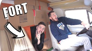BOX FORT RV! *Mobile Fort*