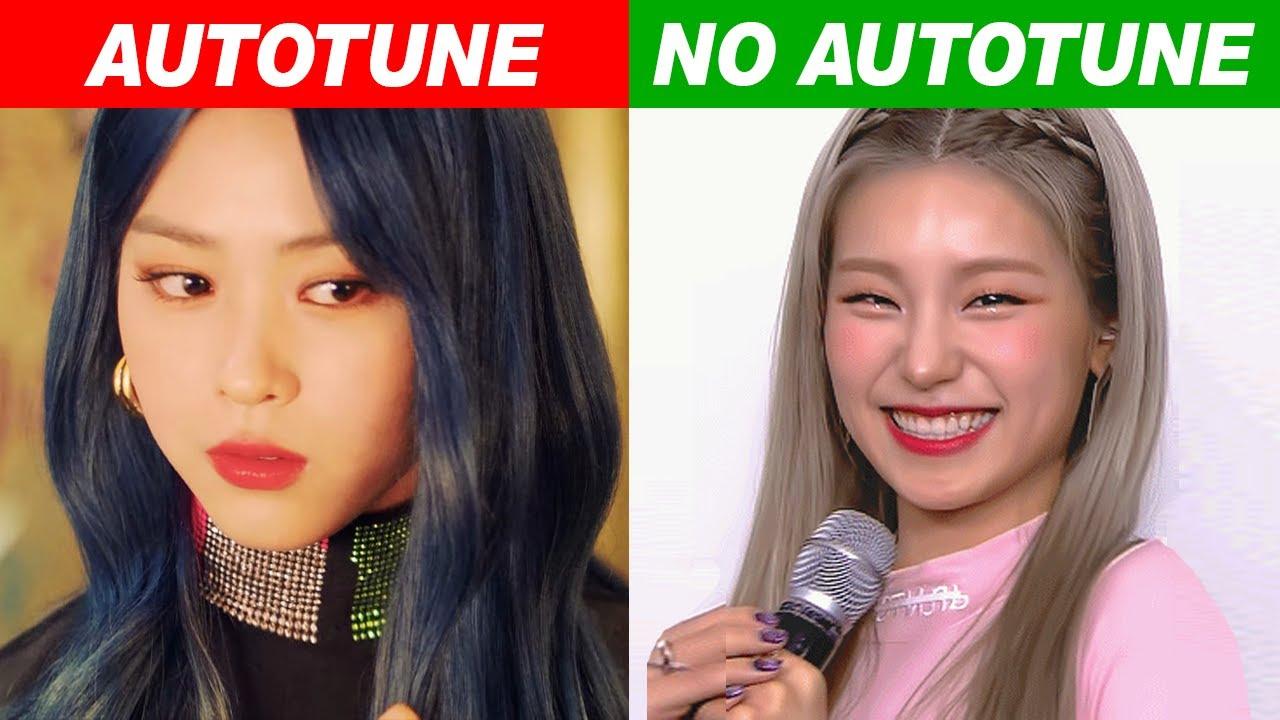 Kpop Idols Autotune Vs No Autotune Mv Vs Live Part8 Youtube