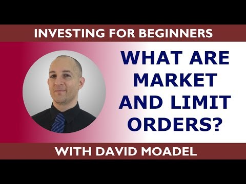 Market, Limit, Stop, & Stop Limit Orders Explained. Investing for Beginners Series #8