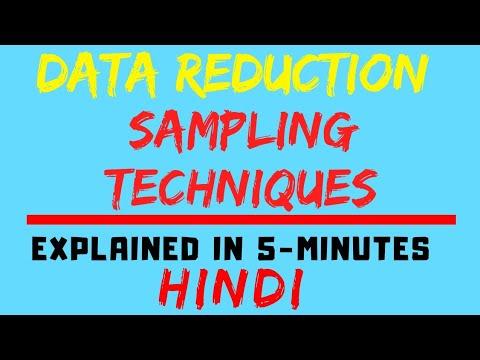 Sampling Techniques [Data Mining](HINDI)