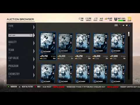 Earl Campbell FINALLY in Madden 18 Ultimate Team! :: Solo Challenge Gameplay