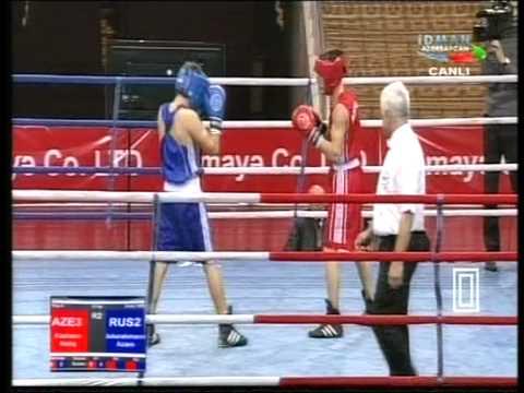 52 kg Azamat Abdurakhmanov (RUS) - Natig Kazimov (AZE)