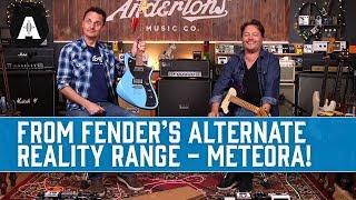 Fender's New Meteora Guitars from the Alternate Reality Range!