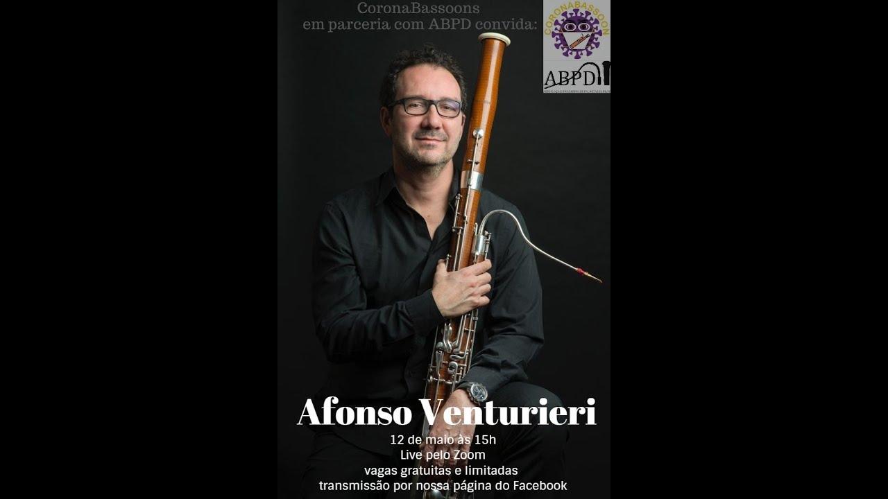 Live com o professor Afonso Venturieri