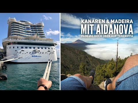 AIDA Vlog #4: Kanaren & Madeira mit AIDAnova - Der Teide auf Teneriffa