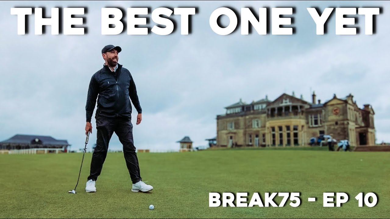 The MOST FAMOUS golf course in the world! #Break75 Ep10
