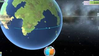 Repeat youtube video Kerbal Space Program: How to get in orbit using Mechjeb.