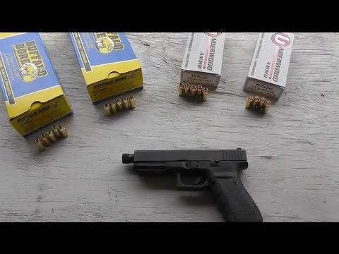 Glock 21 45 Super Ammo Test - Accuracy, Velocity, Recoil