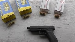 Glock 21 45 Super Ammo Test - Accuracy, Velocity, Recoil