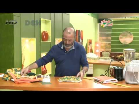5º Clase: Vistiendo la cocina: fundas para electrodomésticos - YouTube