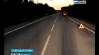 В Плесецком районе в ДТП погибла 20-летняя девушка(Водитель - возможно, был пьян. В Плесецком районе выясняют причины крупного ДТП на трассе Брин-Наволок-Карго..., 2014-06-06T09:41:27.000Z)
