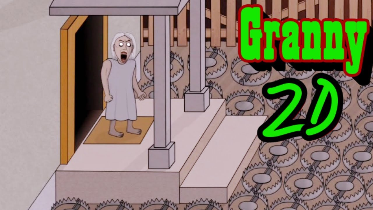 Granny 2D Full Gameplay