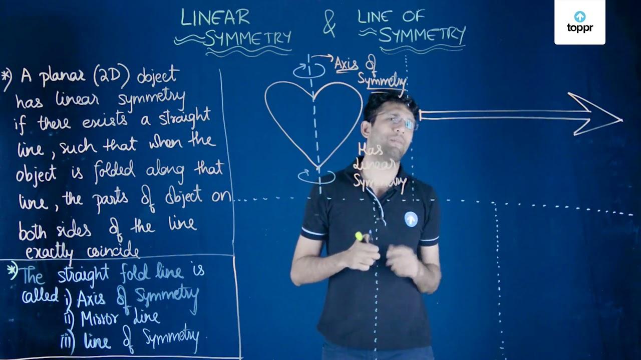 Linear Symmetry: Vertical & Horizontal Symmetry Lines
