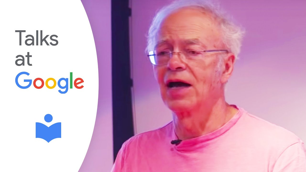 peter singer famine affluence and morality talks at google  peter singer famine affluence and morality talks at google