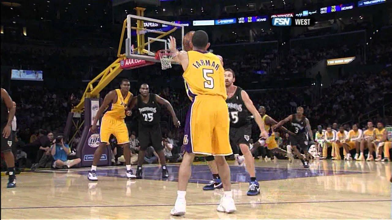 LA Lakers vs timberwolves November 9th 2007 (Kobe Bryant ...