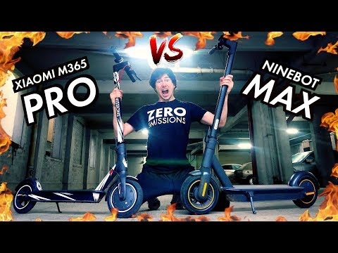 NINEBOT MAX VS XIAOMI M365 PRO VS TURBOWHEEL SWIFT   Electric Scooter Review