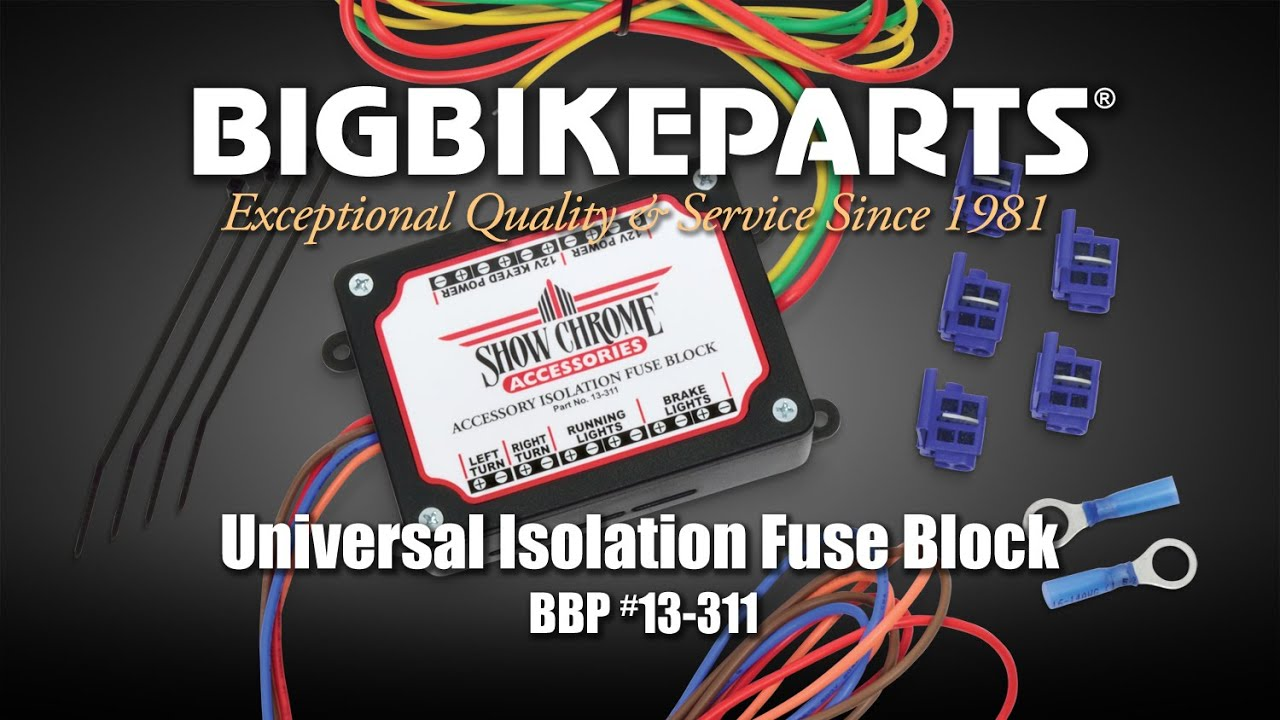 Universal Isolation Fuse Block Youtube Waterproof Box Accessory