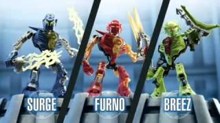 Hero Factory - Surge Ferno & Breeze - TV Toy Commercial - TV Spot - TV Ad - LEGO