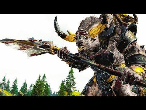 BATTLE FOR KARAK AZUL - Beastmen ⚔️ Dwarfs - Total War WARHAMMER Cinematic Battle Movie |