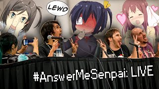 DOING LEWD & SEXY THINGS WITH FANS!! #AnswerMeSenpai: LIVE at Montreal Otakuthon 2016