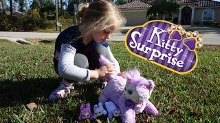 Игрушка Kitty Suprise Gracie (Кошка с сюрпризом Грэйси)  How Many Kittens Will She Have?