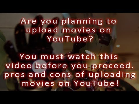 how to upload movie on youtube without copyright strikes