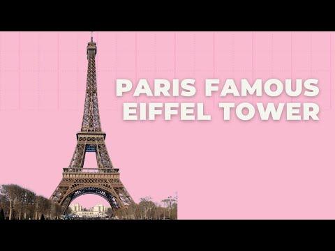 Paris Famous Eiffel Tower