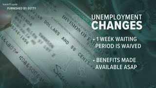 MN eases rules for unemployment benefits