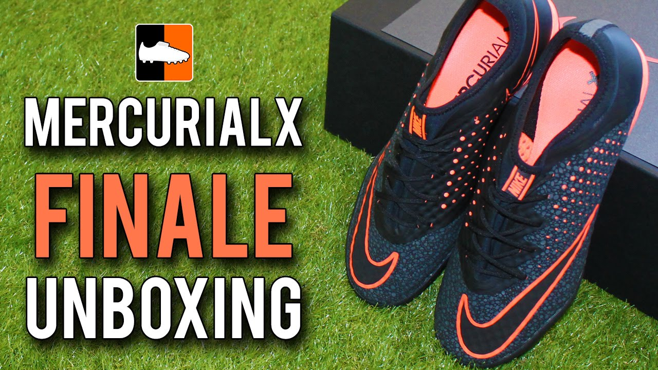 15e5d1841 Nike MercurialX Finale Unboxing - New Safari Pack - YouTube