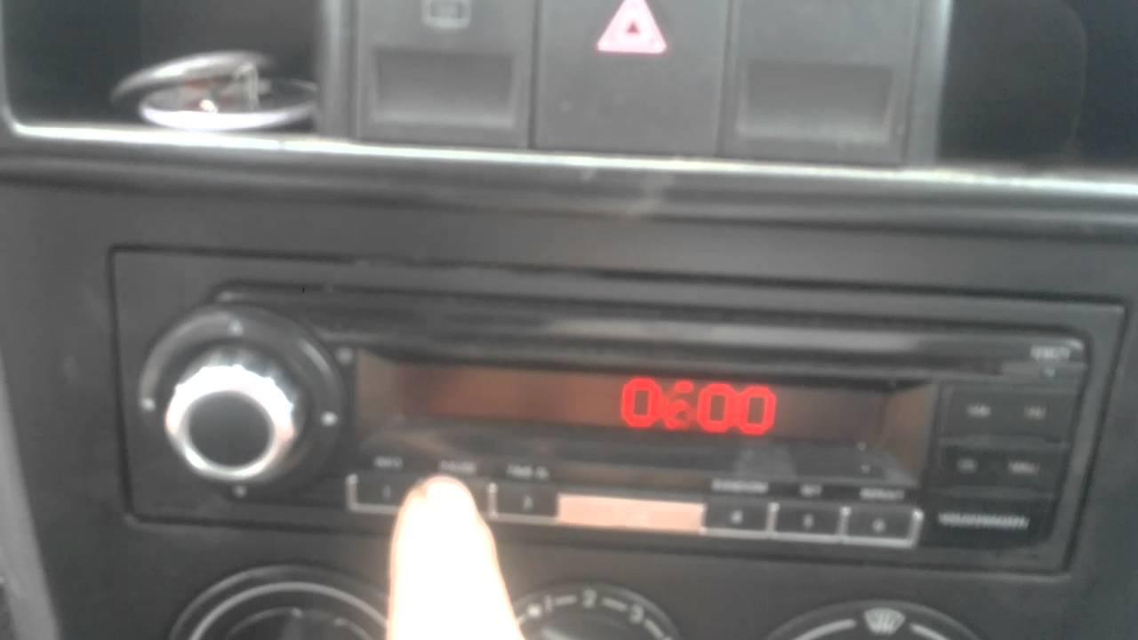 Código de Volkswagen códigos de radio VW Decodificar Desbloqueo Rápido