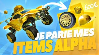 J'AI PARIÉ MES ITEMS ALPHA EN 1VS1 (600€+)