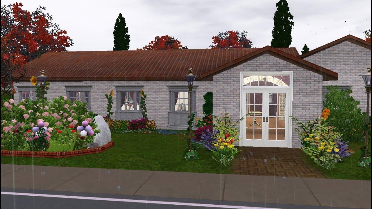 The Sims 3: Speed Build - Wedding Venue - Exterior - YouTube