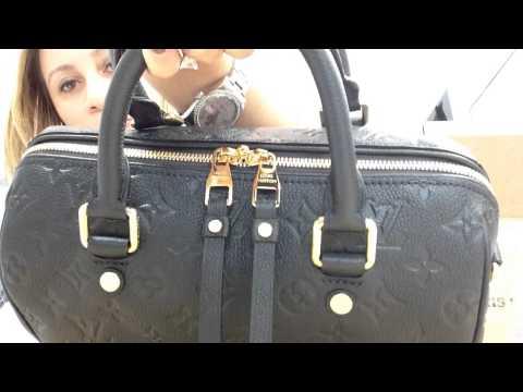 Louis Vuitton re reveal Louis Vuiton speedy B empriente 25!