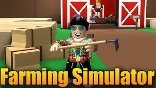 JSEM FARMÁŘ!😂👨🌾 | ROBLOX: Farming simulator