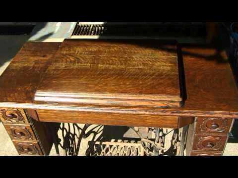 Restoring a Treadle Sewing Machine Cabinet from scratch