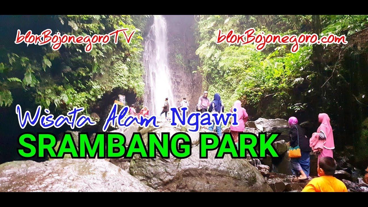 Wisata Air Terjun Srambang Park Ngawi