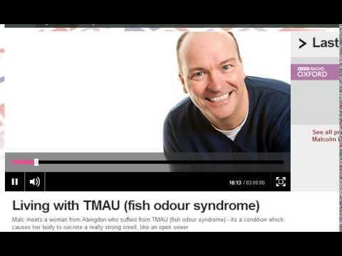 Body Odor : Ellie Talks About TMAU Smells On BBC Radio Oxford