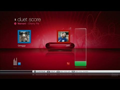 SingStar (game & microphone) PlayStation 3 Gameplay -