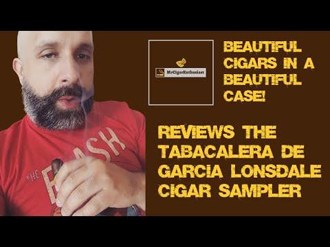 MrCigarEnthusiast Reviews The Tabacalera De Garcia Lonsdale Cigar Sampler