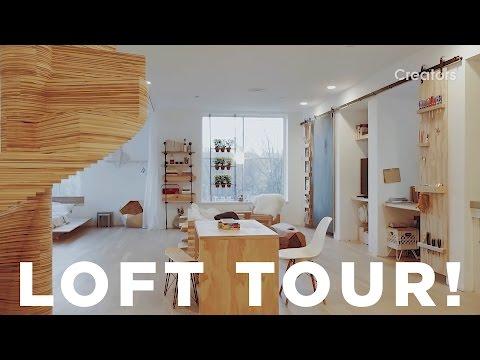 A Tour of Ben Uyeda's Loft