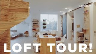 A Tour of Ben Uyeda's Loft