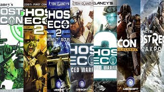 The Evolution of Ghost Recon Games (2001-2020)