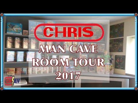 Chris's Mancave - Room Tour - Team Chav