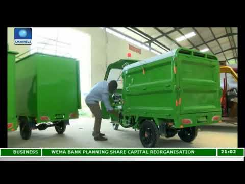 Femi Oye Builds Electric Tricycles In Lagos  Eco@Africa 