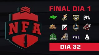 FREE FIRE AO VIVO - FINAL DIA 1 - LIGA NFA SEASON 4 - #NFAS4