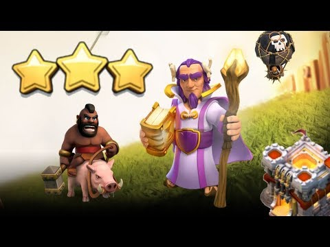 TH11 vs TH11 3-Stars! Mass LaLoon and Hogs | Clash of Clans