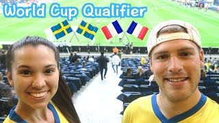 Sweden beats France | World cup qualifier in Sweden vs France