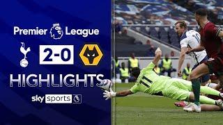 Kane on target as Spurs maintain European push! | Tottenham 2-0 Wolves | Premier League Highlights